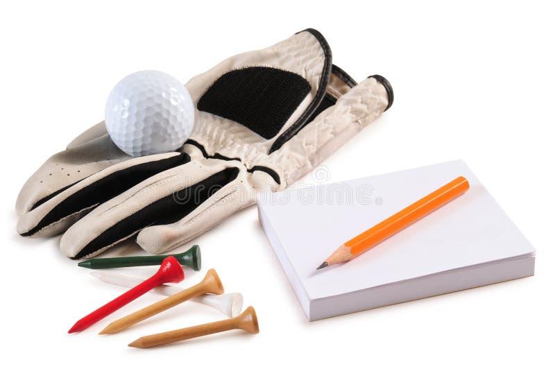 golf isolerade objekt royaltyfri foto