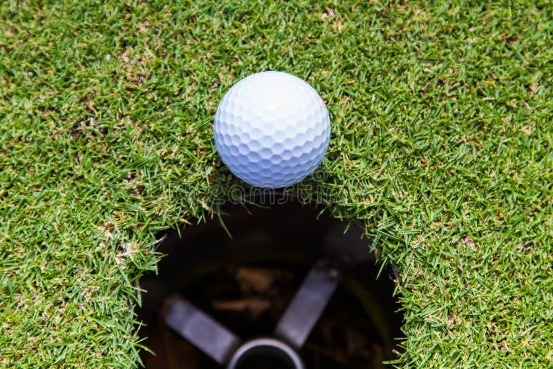 Golf jest sportem który jest popularny i dobry dla zdrowie dookoła świata zdjęcia stock