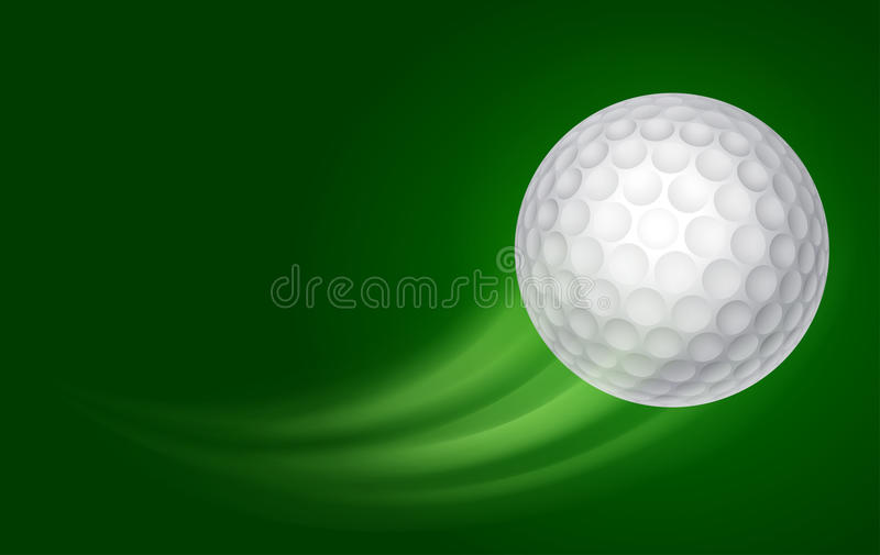 Golf-Karte stock abbildung