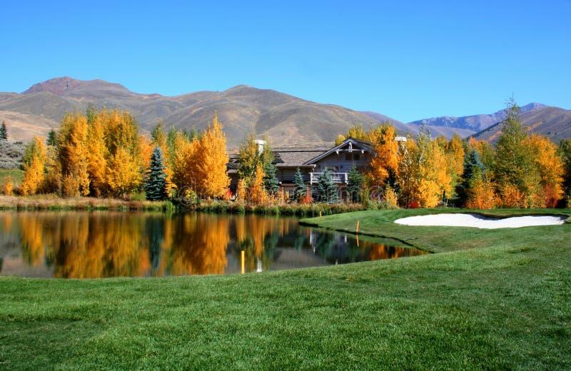 golf kurort zdjęcia stock