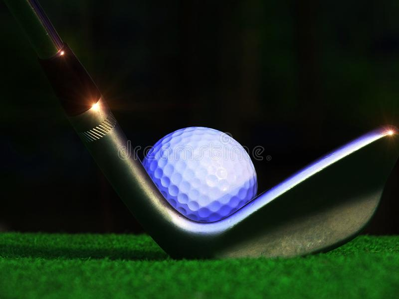 golf l5At spelrum s arkivbild