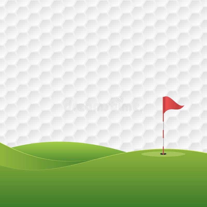 golf 2 royaltyfri illustrationer