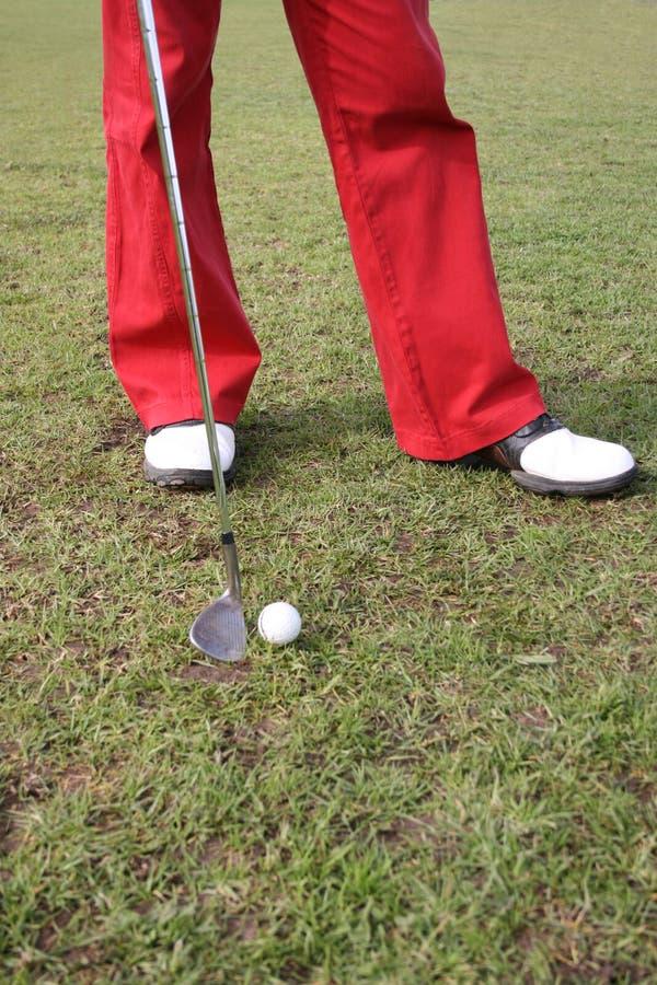 Golf Legs royalty free stock image