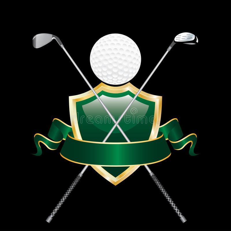 Download Golf like man stock vector. Image of green, banner, bright - 21318939