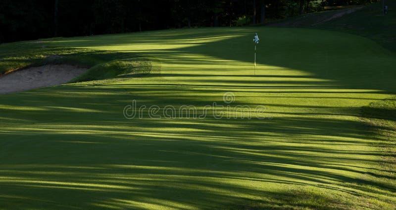 Golf-Loch 8h stockfotografie
