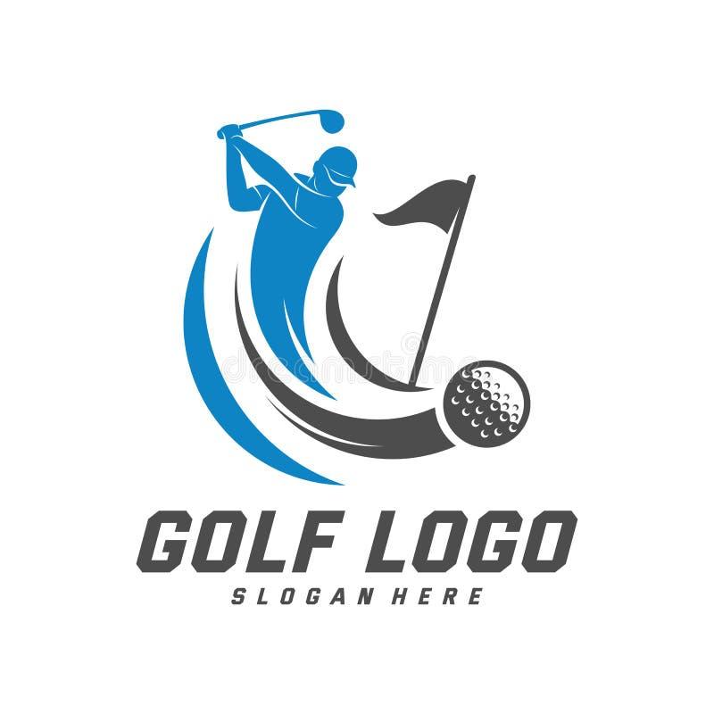 Golf Logo Design Vector Template Vector Label Of Golf Logo Of Golf Championship Illustration Creative Icon Design Concept Stock Vector Illustration Of Emblem Black 166638286
