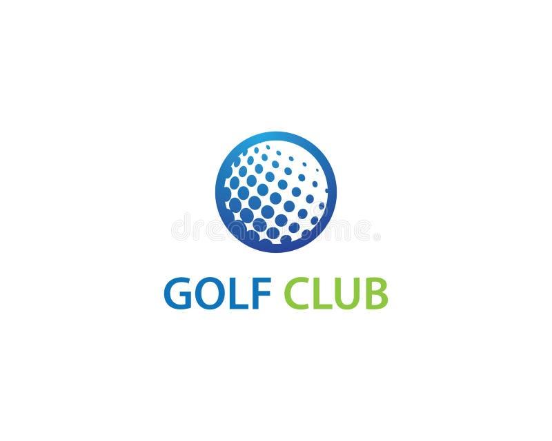 Golf Logo Template vector illustration