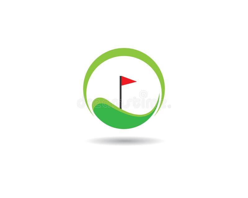 Golf logo template vector illustration icon vector illustration