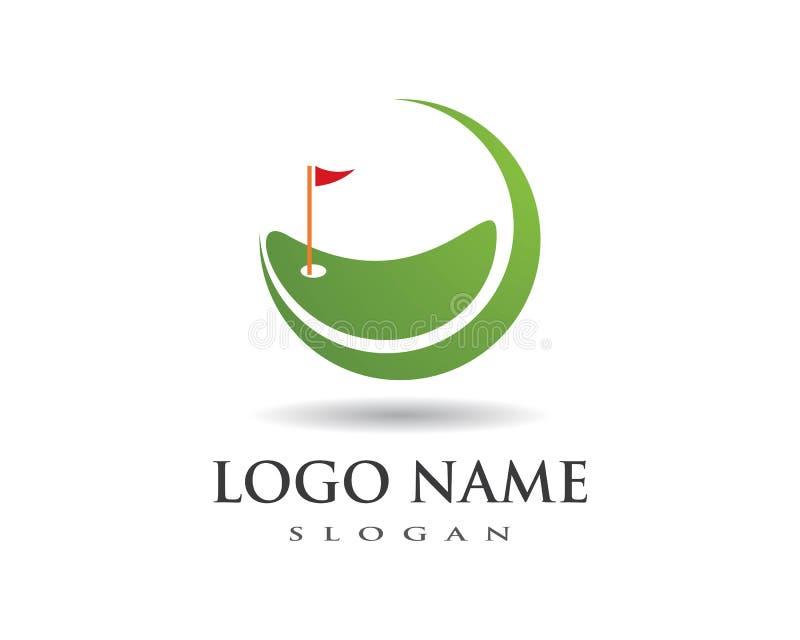 Golf Logo Template stock illustration