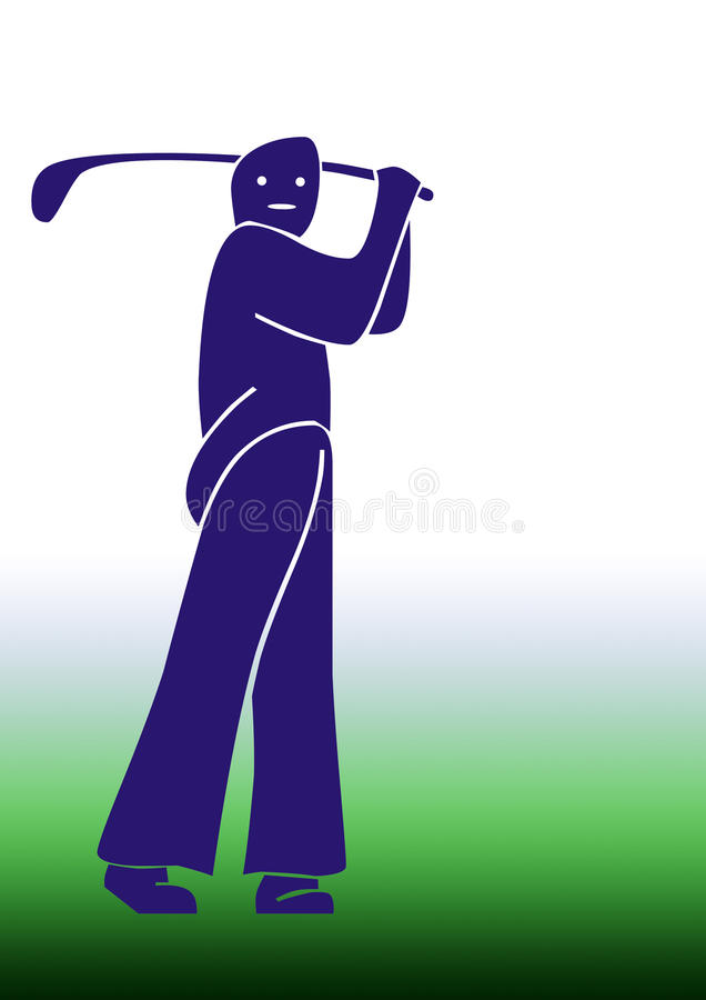 Download Golf Man Stock Photos - Image: 21570563