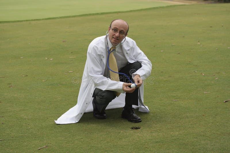 Golf medizinisch lizenzfreies stockfoto