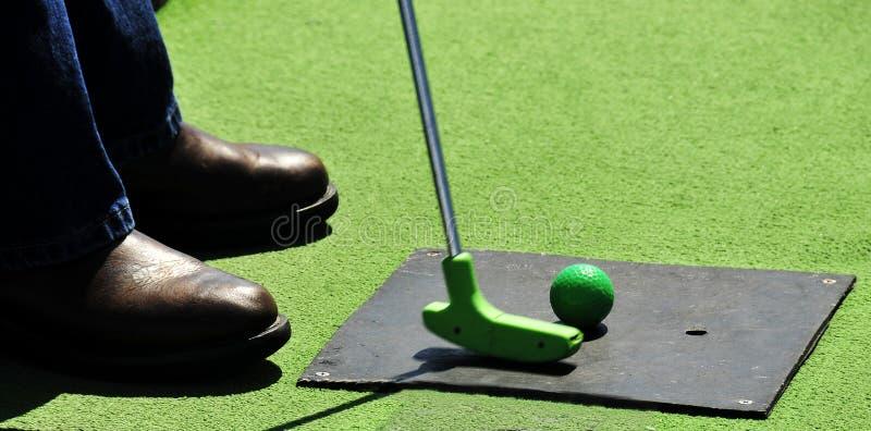 Golf miniature photographie stock libre de droits