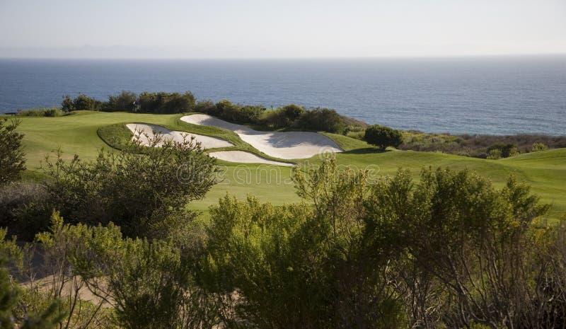 golf morzem fotografia stock