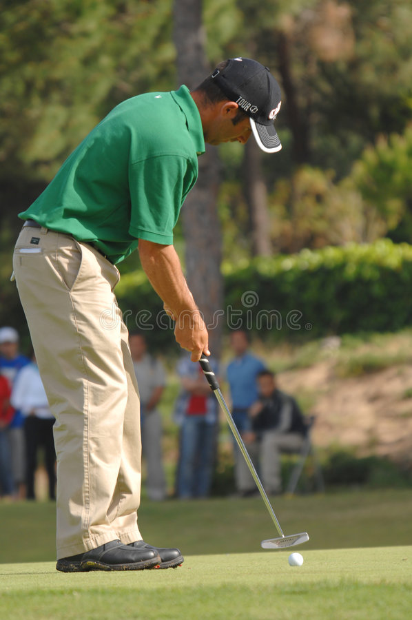 Golf - Nuno CAMPINO, POR Redactionele Stock Foto
