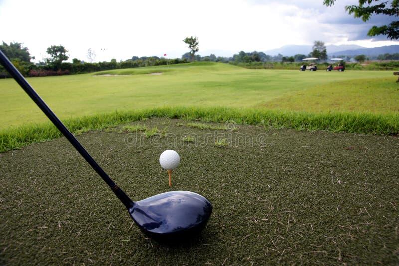 Golf o verde fotografia de stock royalty free