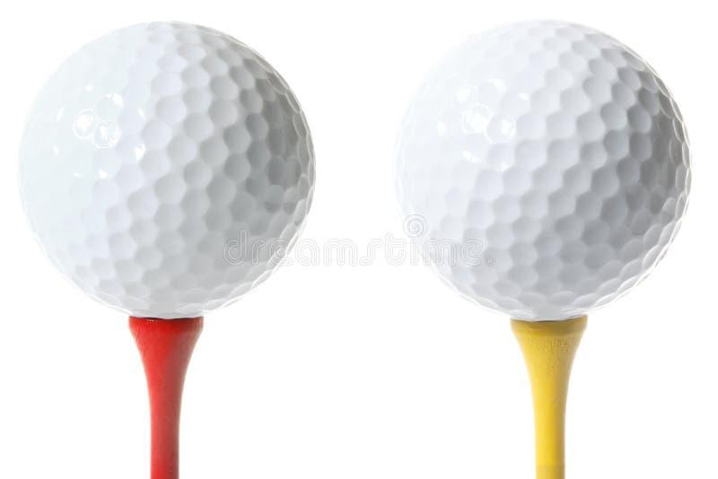 golf odizolowane ball zdjęcia stock