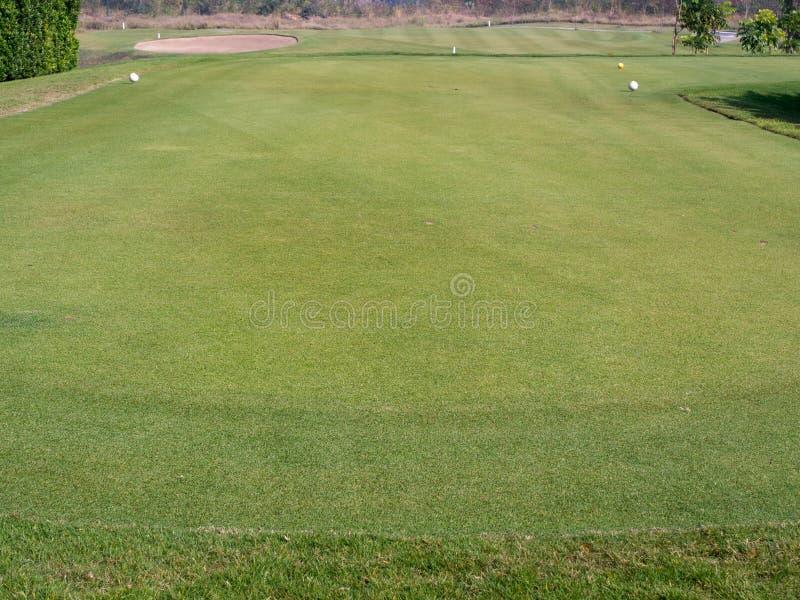 golf outre de té photo stock