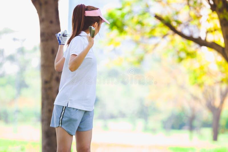 Golf-Paare stockbild