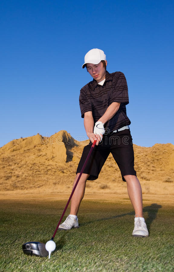 Download Golf player stock image. Image of swing, player, hills - 11804361
