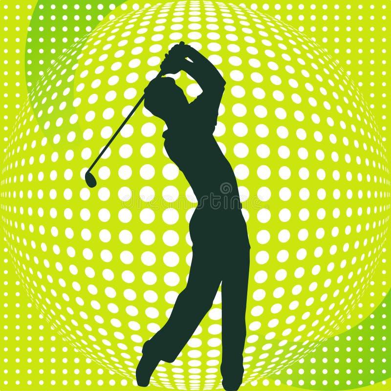 Download Golf-Player stock illustration. Illustration of rally - 13018299