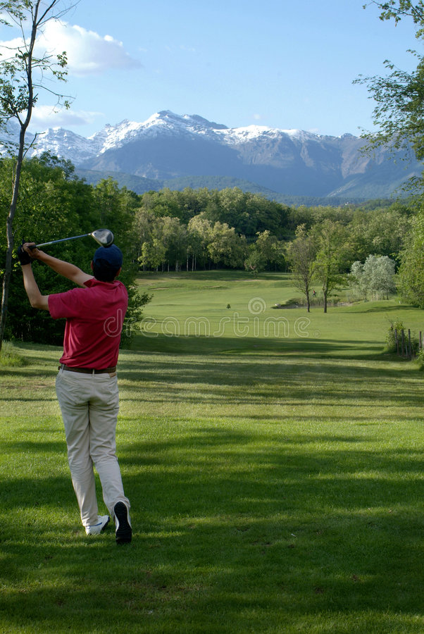 Download Golf player stock photo. Image of green, recreation, ball - 2385104
