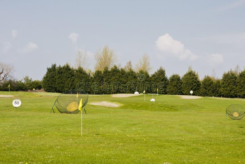 Golf Practice Range Royalty Free Stock Photo