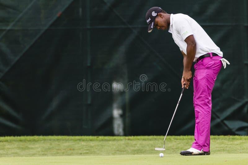 Download Golf Pro Putting editorial stock image. Image of mandela - 28121029