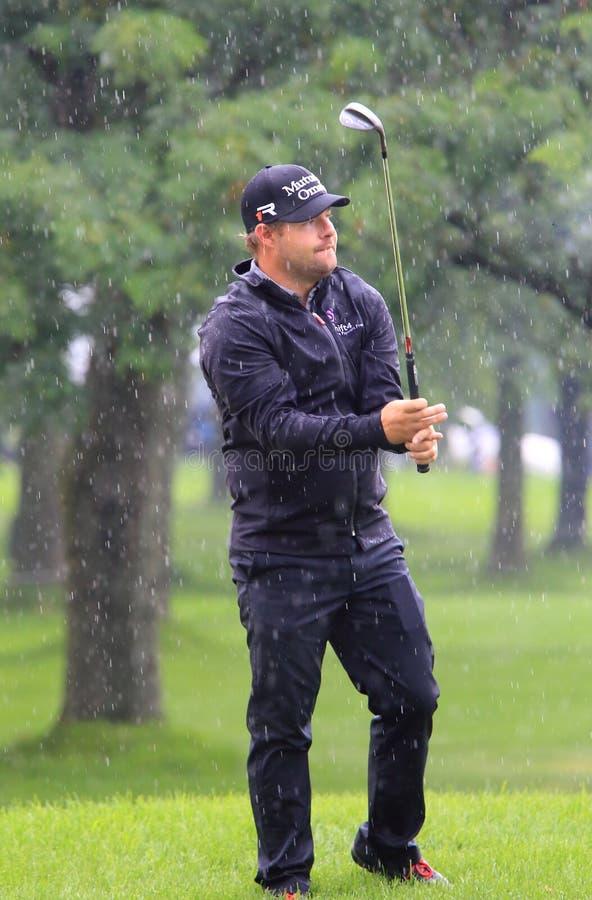 Golf pro-Ryan Moore royaltyfria foton