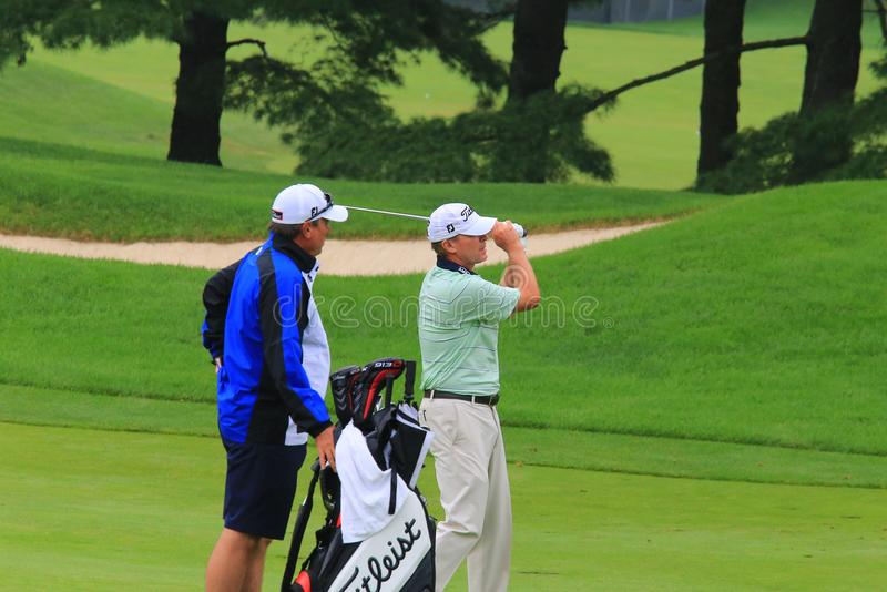 Golf Pro-Steve Stricker lizenzfreie stockfotografie