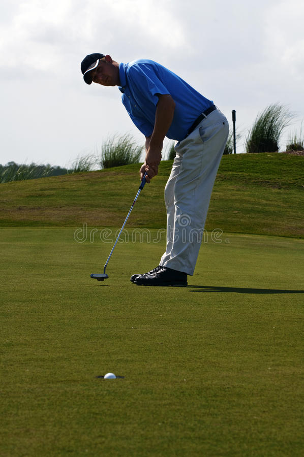 Download Golf Putt stock image. Image of outdoor, green, perfect - 13965475