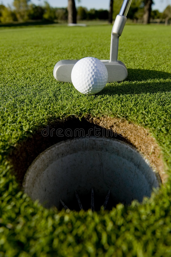 Download Golf Putt stock photo. Image of white, putter, putting - 6721052