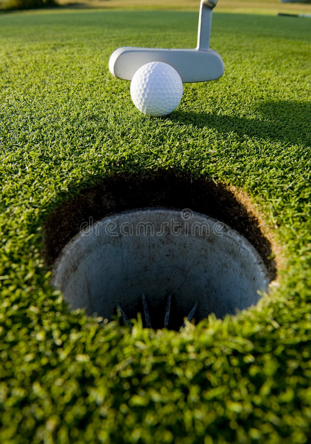 Download Golf Putt stock photo. Image of grass, activity, nobody - 6897202