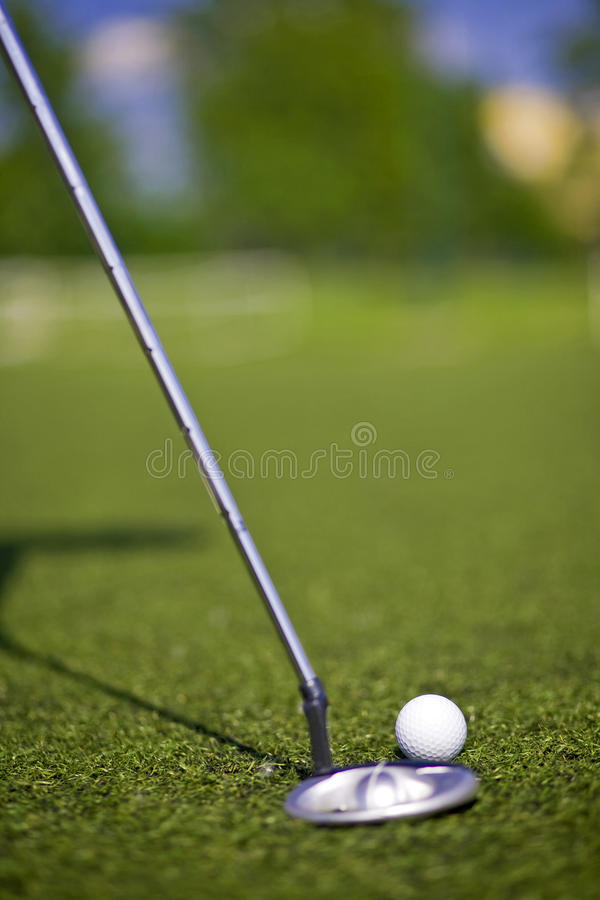Download Golf Putter Play Stock Photos - Image: 24580683