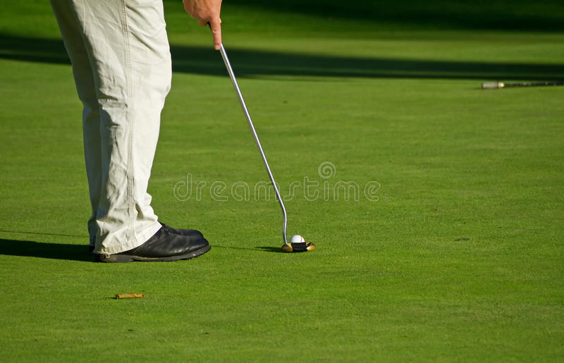 Download Golf Putting Stock Image - Image: 15584411