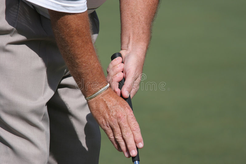 Download Golf Putting Grip Special Stock Image - Image: 2207141