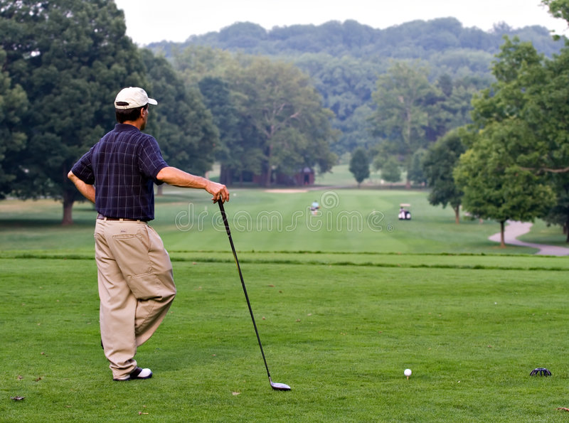Download Golf Que stock image. Image of retired, putt, health, club - 2903317