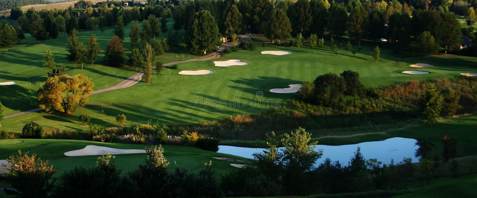 Golf Resort royalty free stock images