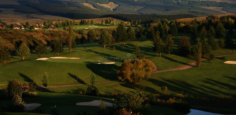 Download Golf Resort stock image. Image of country, lake, neighborhood - 1419449