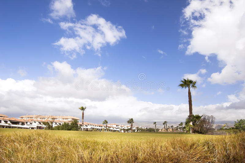 Download Golf resort stock photo. Image of homes, cart, green - 23444474