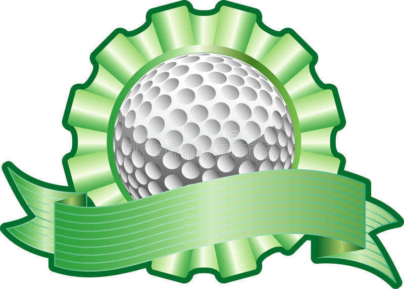 Download Golf ribbon stock vector. Image of golf, coat, arms, background - 6598724