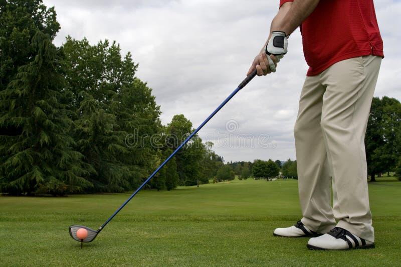 Golf-Schuhe - horizontal stockfoto