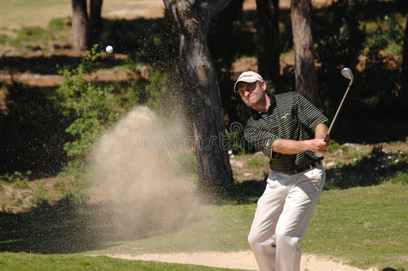 Golf - Sion E BEBB, WAL royalty free stock image