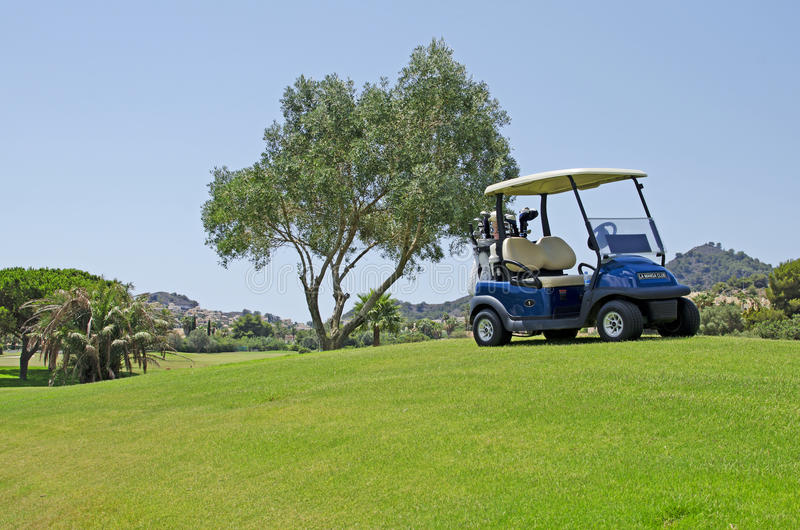 Golf in Spain royalty free stock photos