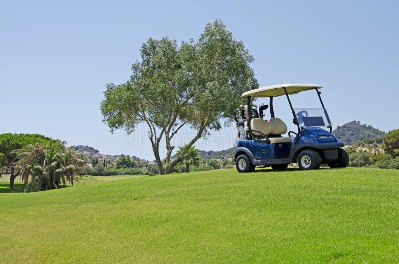 Golf in Spanje royalty-vrije stock foto's