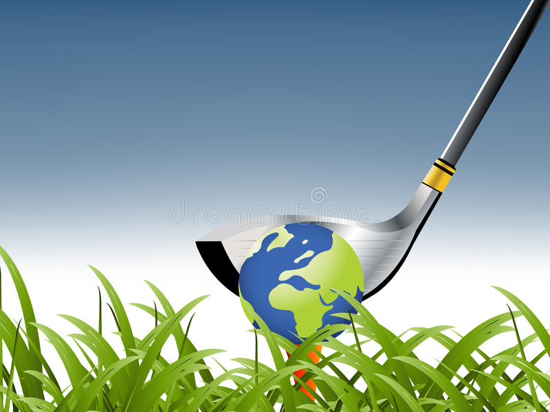Download Golf Sport stock vector. Illustration of control, ground - 15950387
