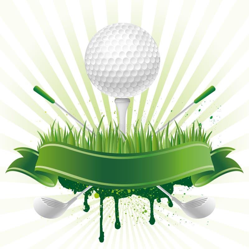 golf sport stock illustration