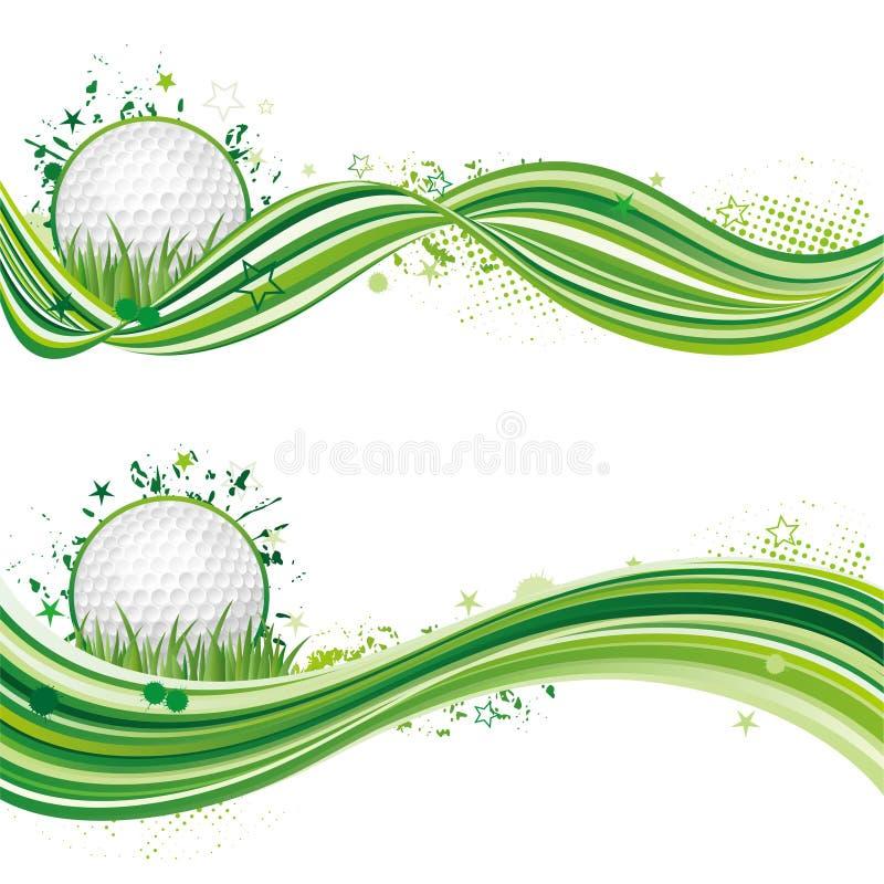 golf sport design element royalty free illustration