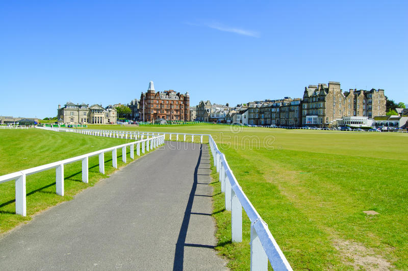 Download Golf St Andrews Old Course Links. Scotland. Stock Photo - Image: 28166234
