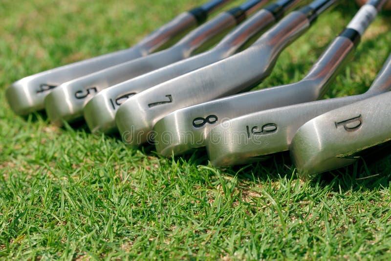 Golf-Steuerknüppel stockfoto