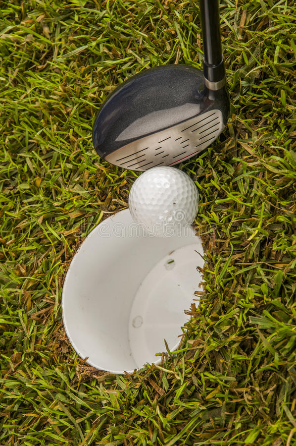 Golf Stuff With Sports Equipment Royalty Free Stock Photos